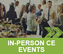IN-PERSON CE EVENTS >>