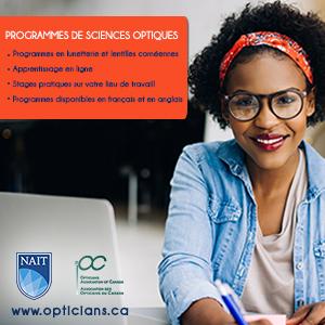 Programmes de sciences optiques du NAIT/AOC