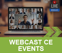 WEBCAST CE EVENTS >>