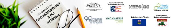 OAC MEMBERSHIP & PLI RENEWAL